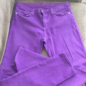 Kate Spade Purple Jeans